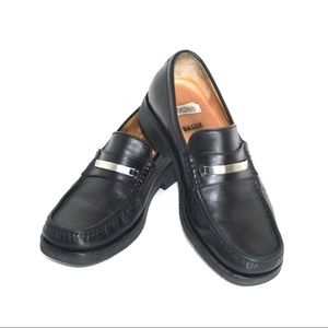Bally Vintage Classic Menswear Signature Loafers